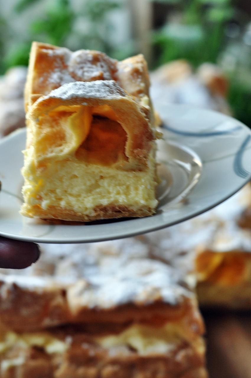 Karpatka z ciasta parzonego