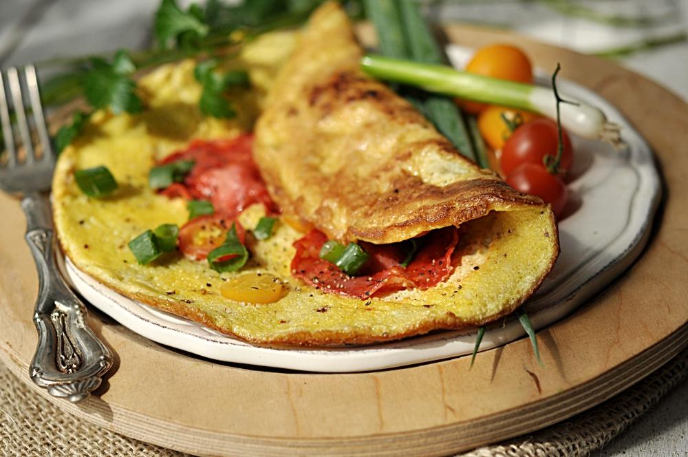 Omlet śniadaniowy
