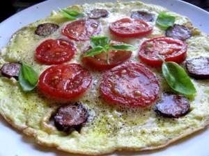 omlet z pomid