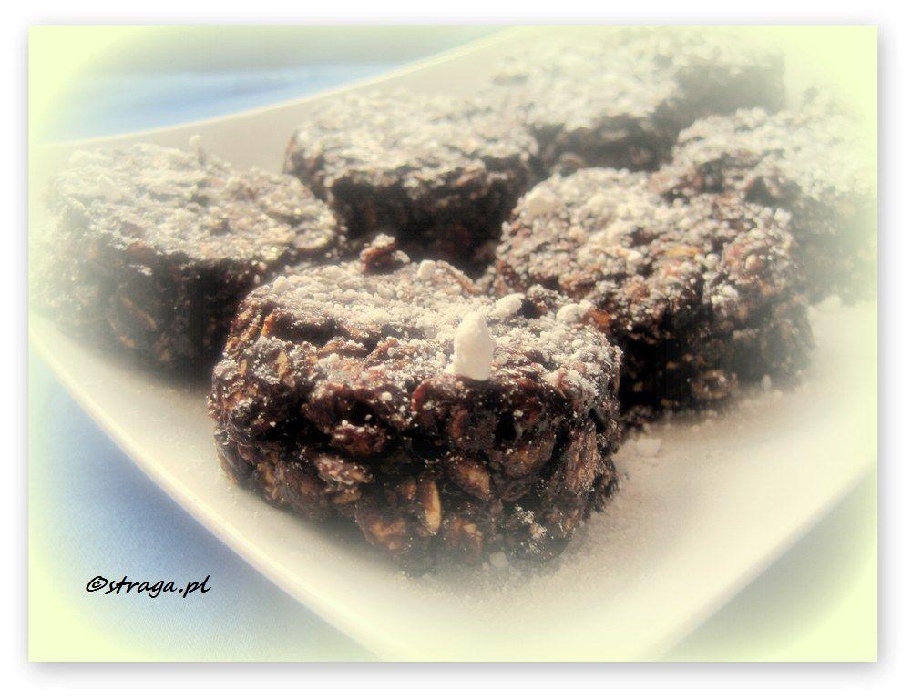 czekoladowe ciasteczka z musli