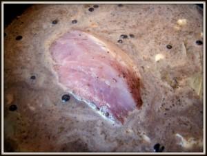 szynka gotowana z jałowcem