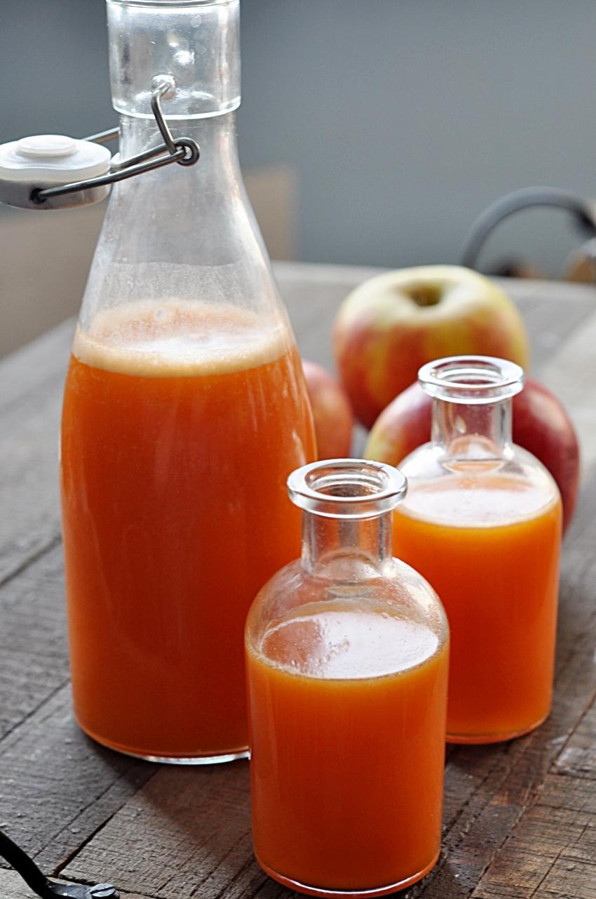 Sok jabłkowo-marchewkowy