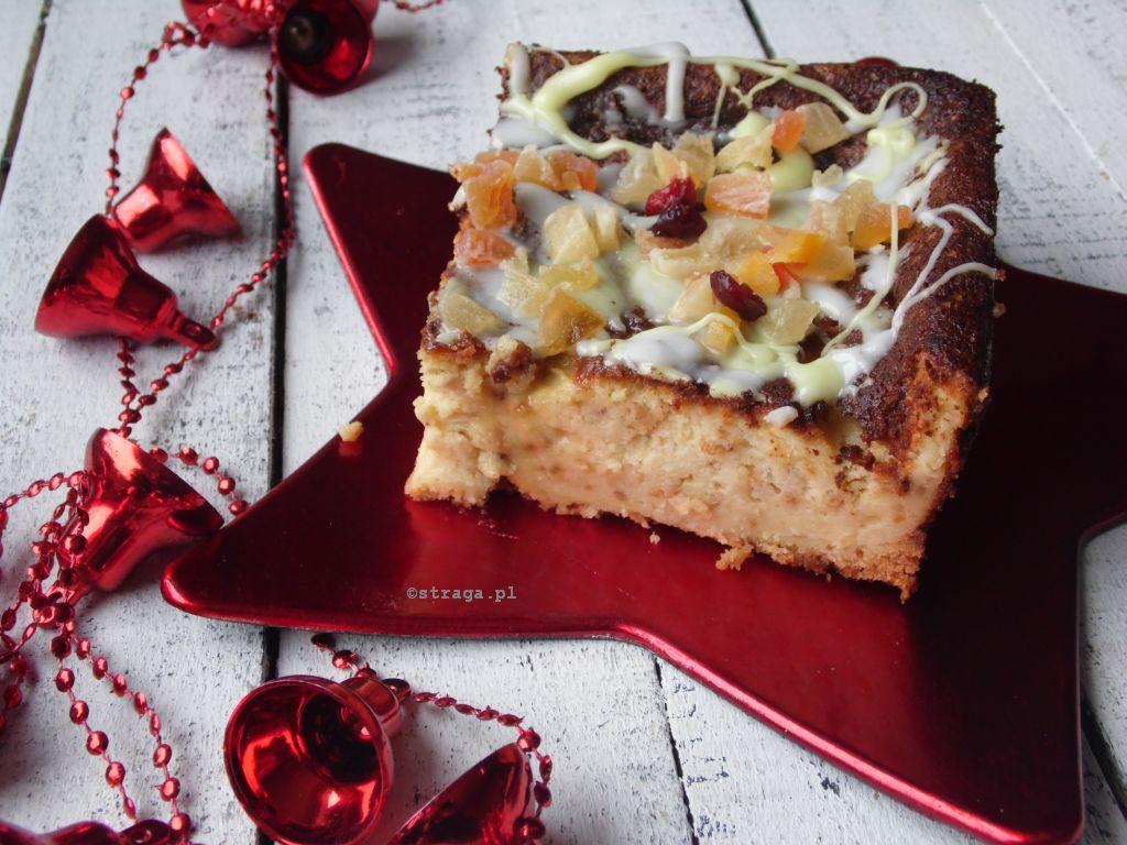Przepis na świąteczny sernik pomarańczowy