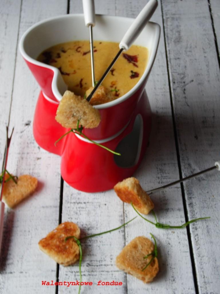 Walentynkowe fondue