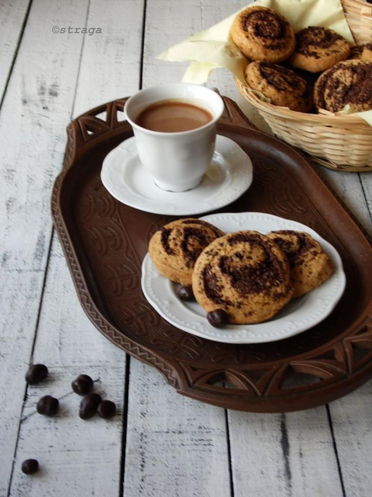 Kruche ciasteczka kawowe