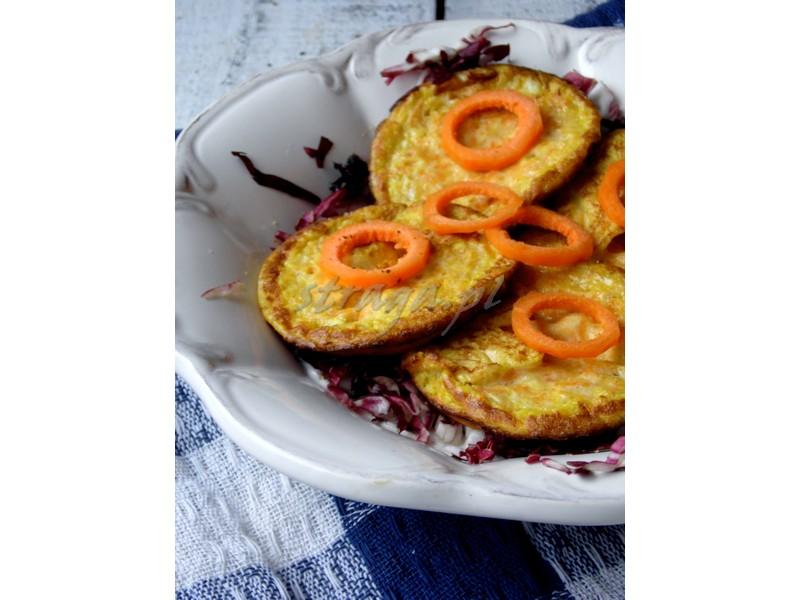 omlety z marchewką