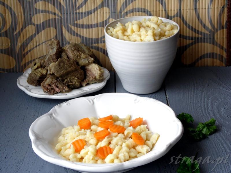 Kluseczki do zup i sosów