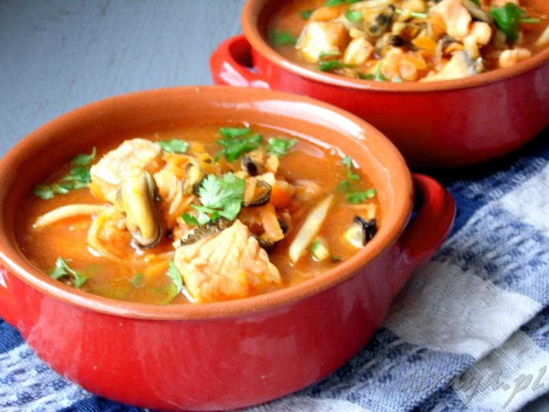 zupa z małżami