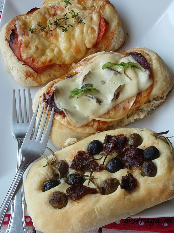 Mini pizza urodzinowa