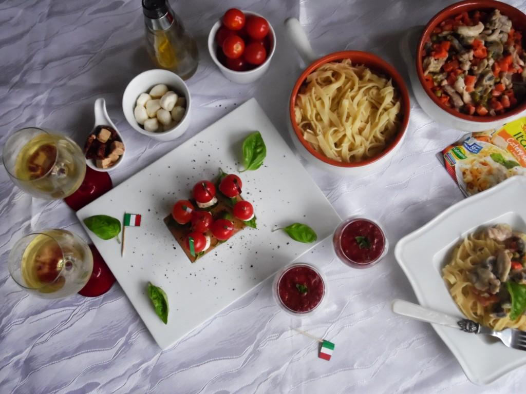 włoski wieczór