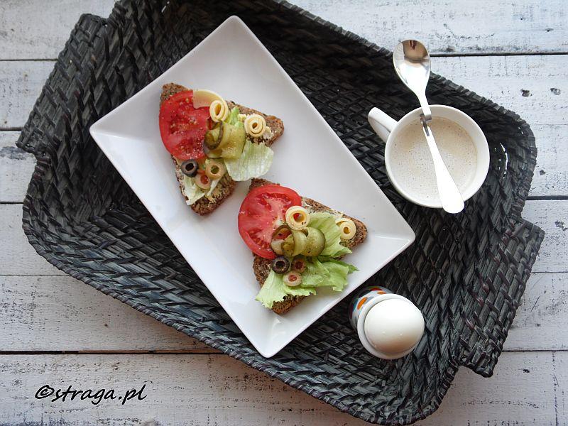 Kanapka śniadaniowa