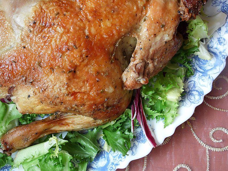 Kurczak pieczony w miodzie