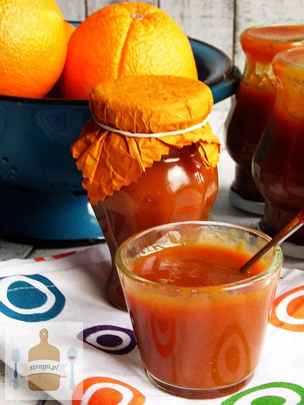 puree pomarańczowe z wanilią
