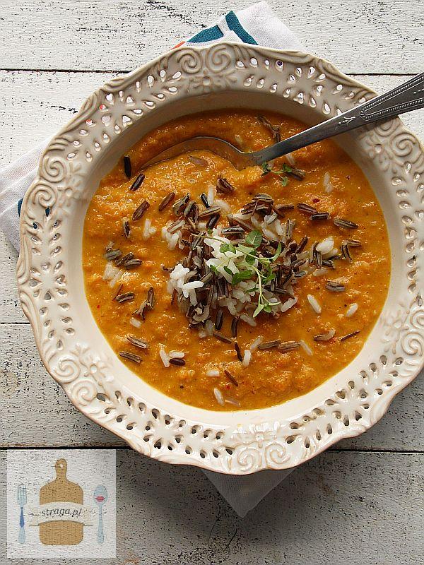 Zupa krem z marchwi i pomarańczy