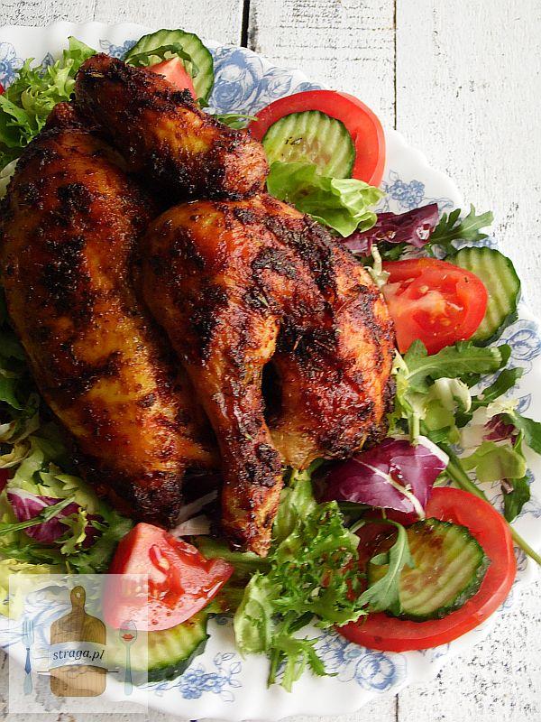 Kurczak pieczony w pikantnej marynacie