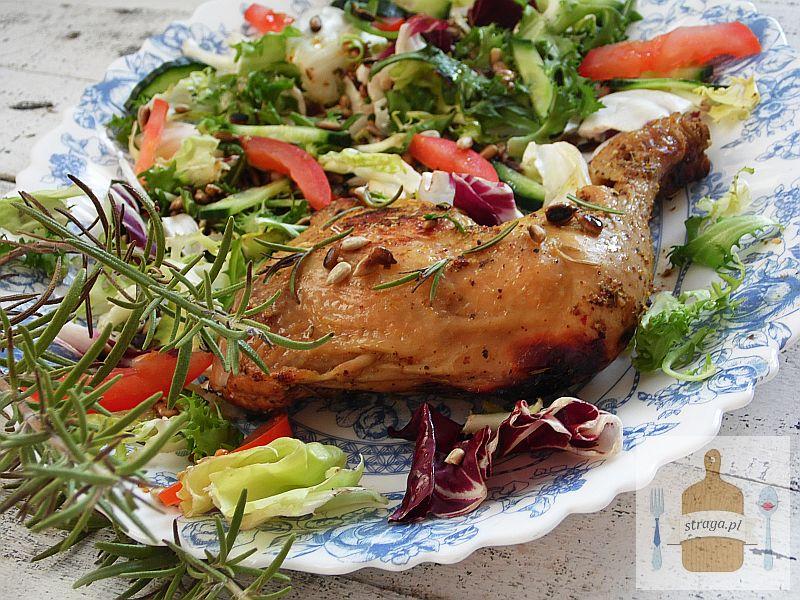 Kurczak pieczony z rozmarynem