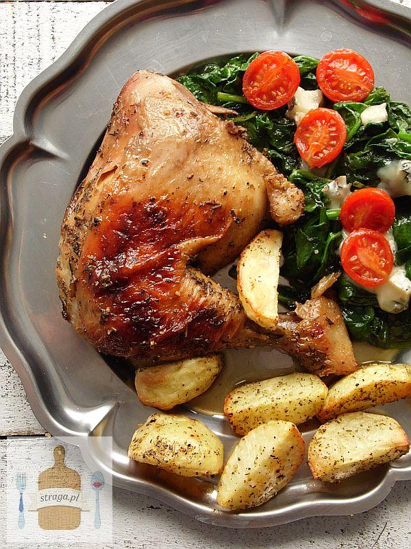 Kurczak pieczony w ziołach prowansalskich