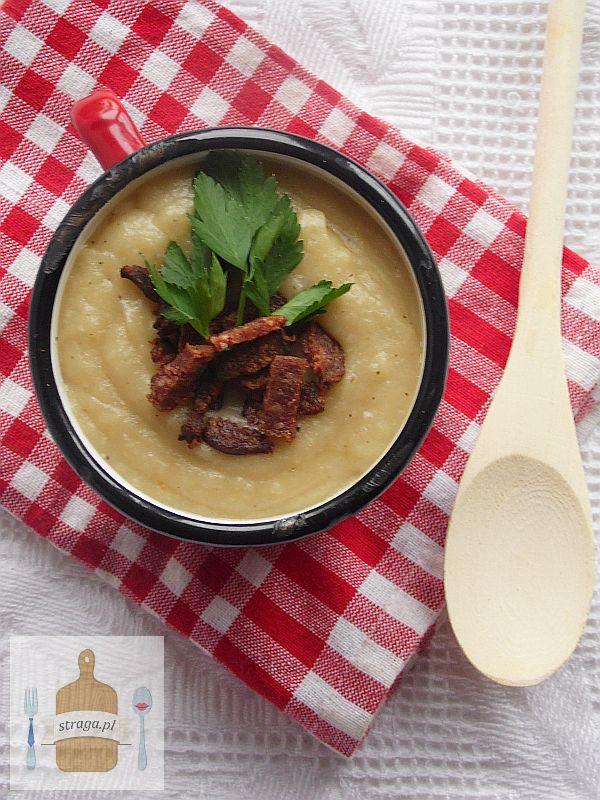 Kremowa zupa ziemniaczana