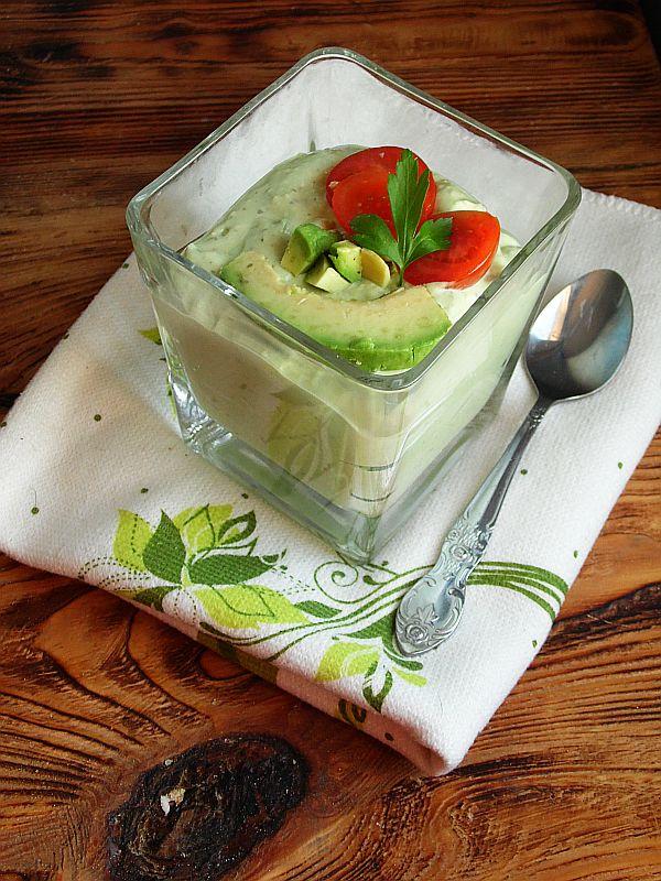 Chłodnik z avocado