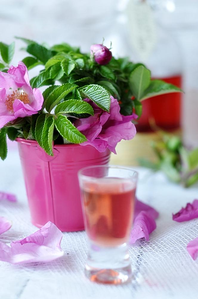 Nalewka z płatków róży