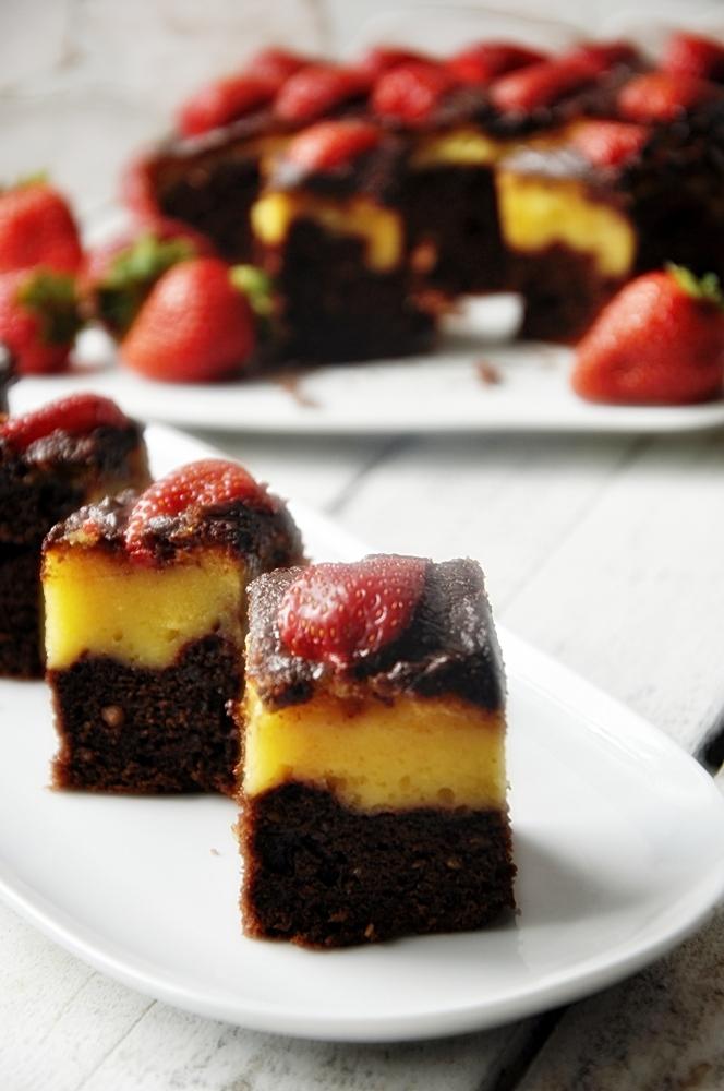 Ciasto czekoladowe z mascarpone