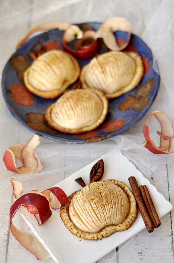 Jabłka w cieście francuskim