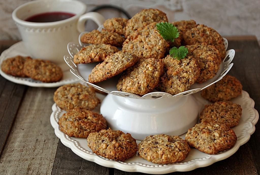 miodowe ciasteczka owsiane