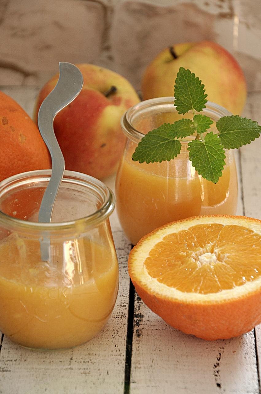 Mus pomarańczowo-jabłkowy
