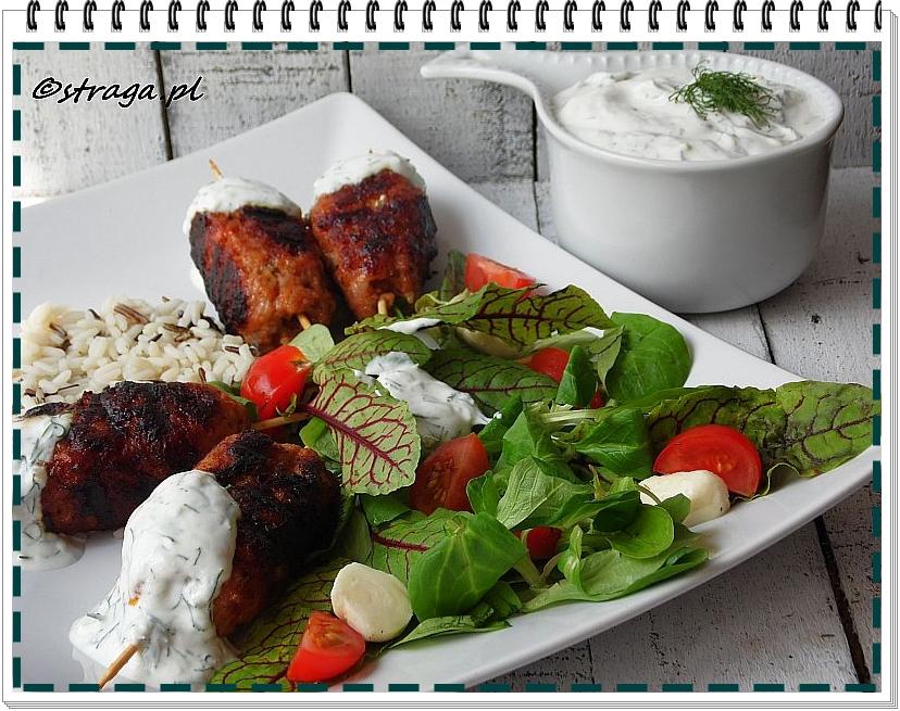mini kebaby z tymiankiem