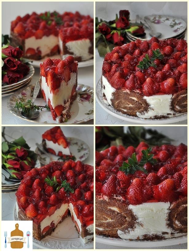 jogurtowiec z truskawkami