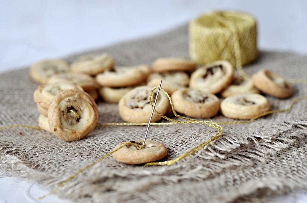Serowe ciasteczka guziki