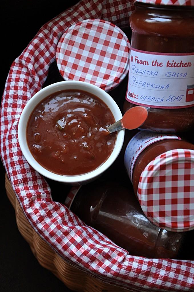 Pikantna salsa paprykowa