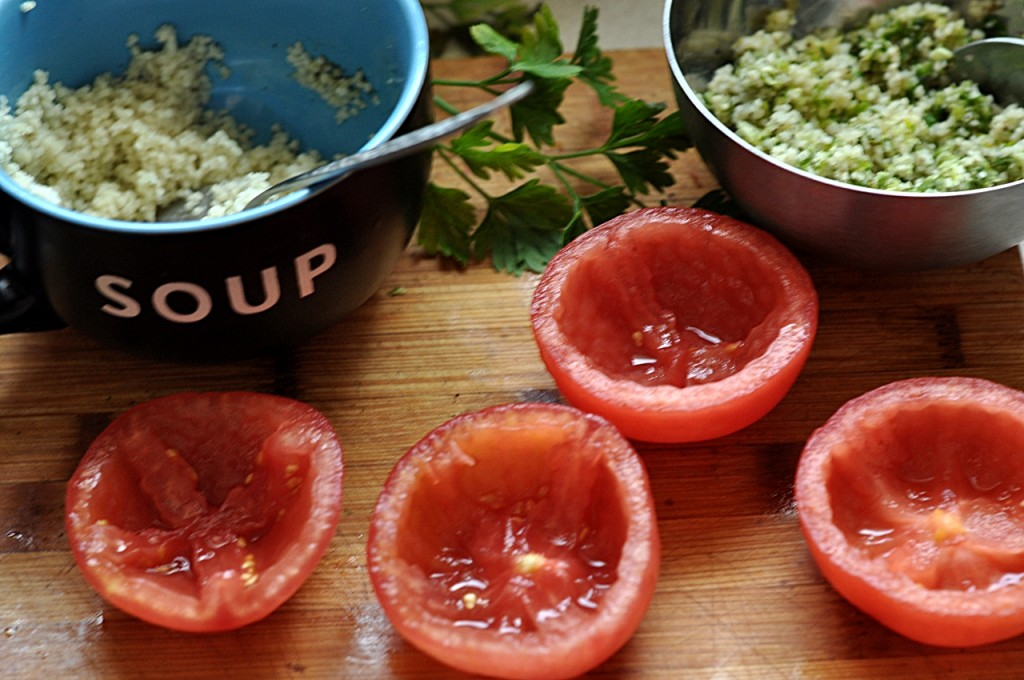 pomidory nadziewane