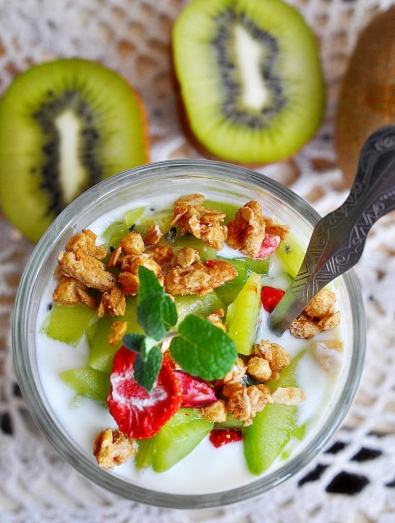 Jogurt z kiwi