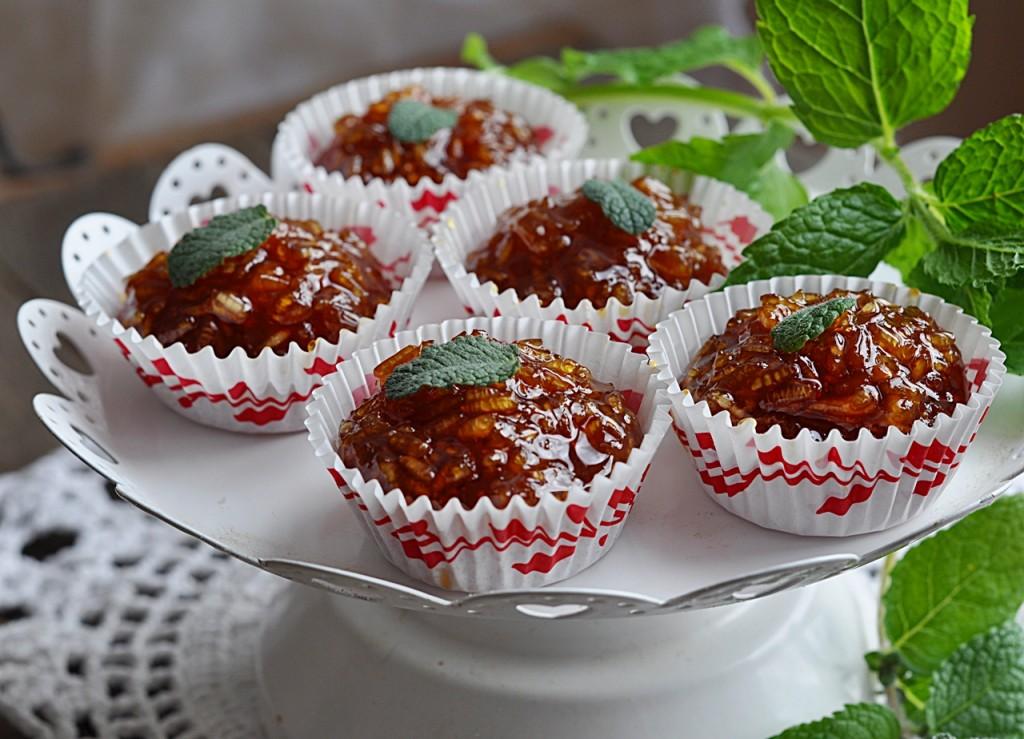 Ryżowe kulki karmelowe