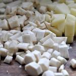 białe warzywa