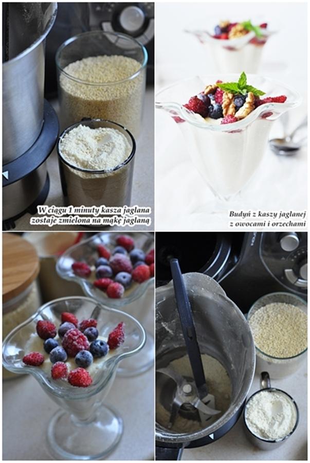 budyń z mąki jaglanej