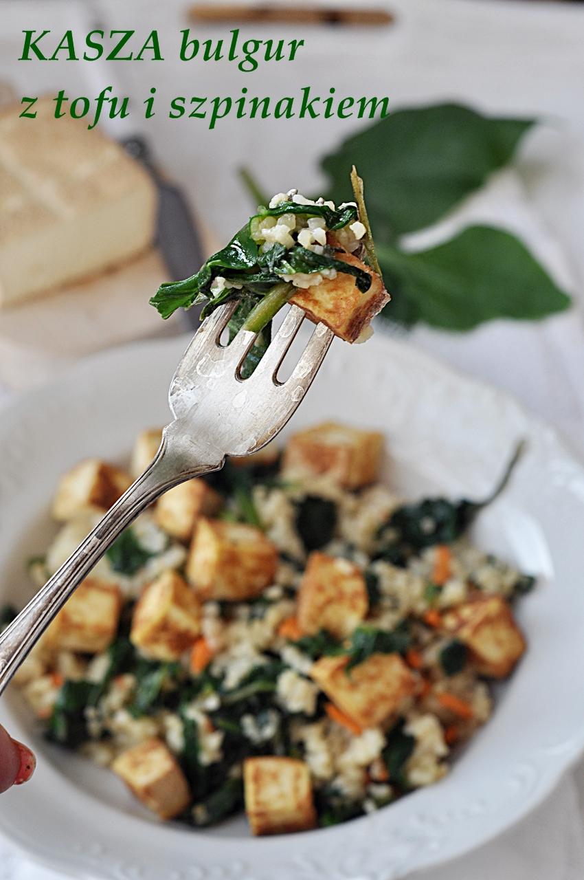 Kasza Z Tofu I Szpinakiem Damsko Meskie Spojrzenie Na Kuchnie