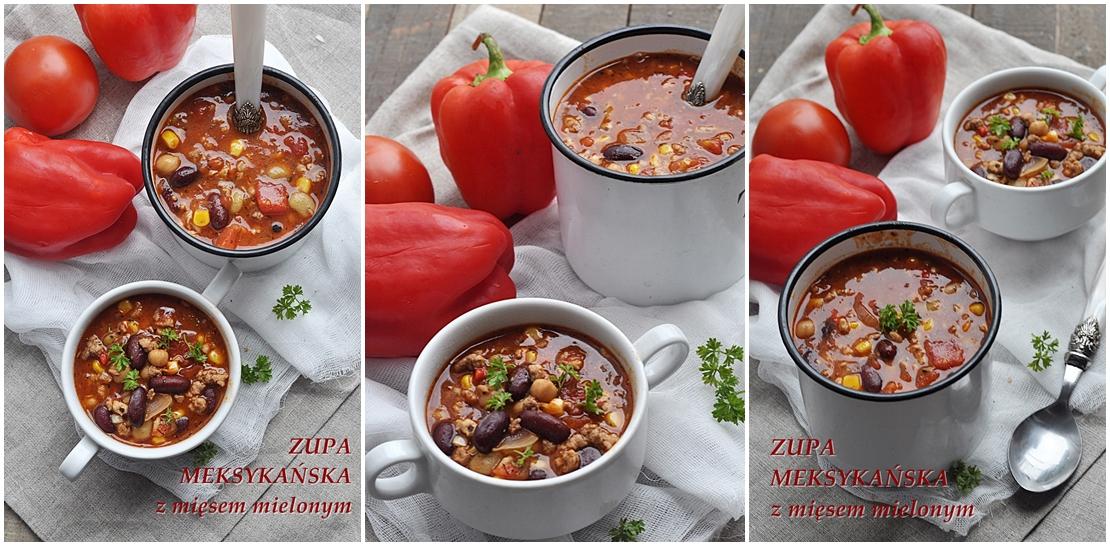 Zupa Meksykańska Z Mięsem Mielonym Damsko Męskie
