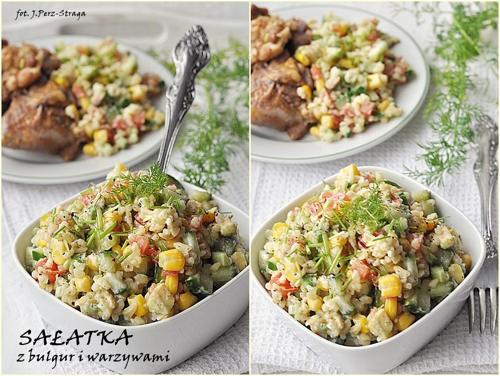Salatka Z Kaszy Bulgur Z Warzywami Damsko Meskie Spojrzenie Na Kuchnie