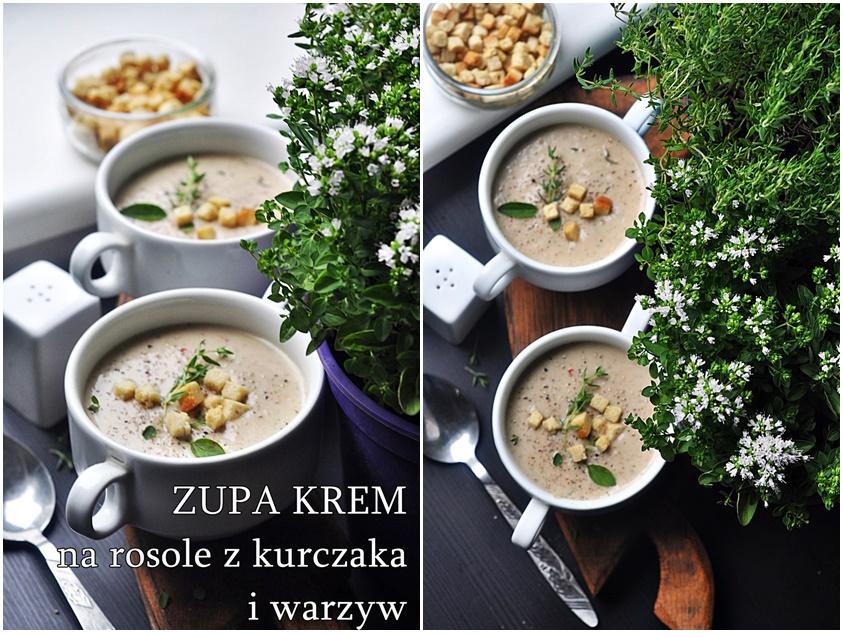 Zupa z kurczaka i warzyw