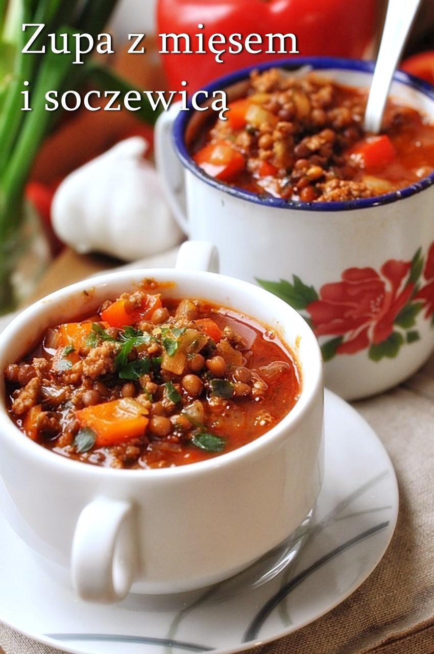 zupa z mięsem