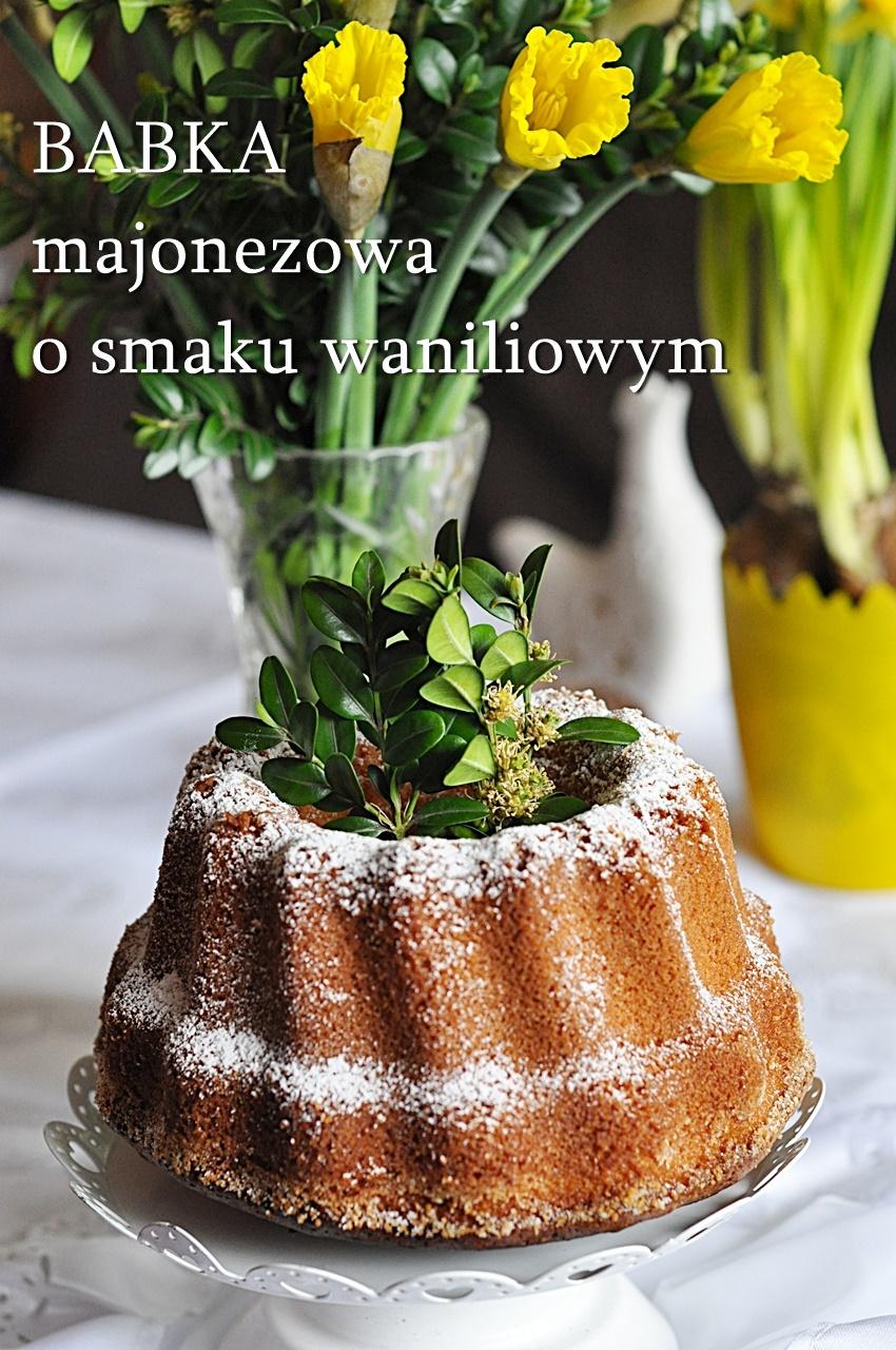 Babka majonezowa