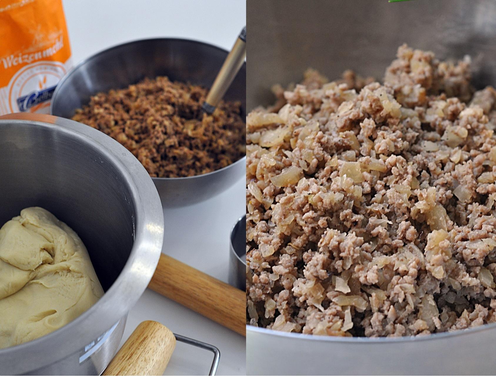 farsz z mięsa i kapusty z gołąbków