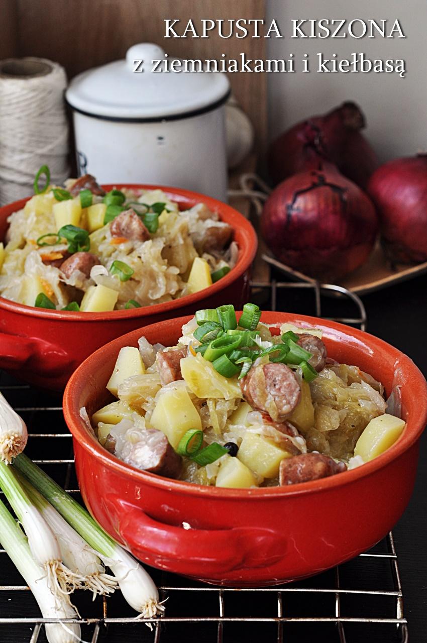 kapusta kiszona z ziemniakami
