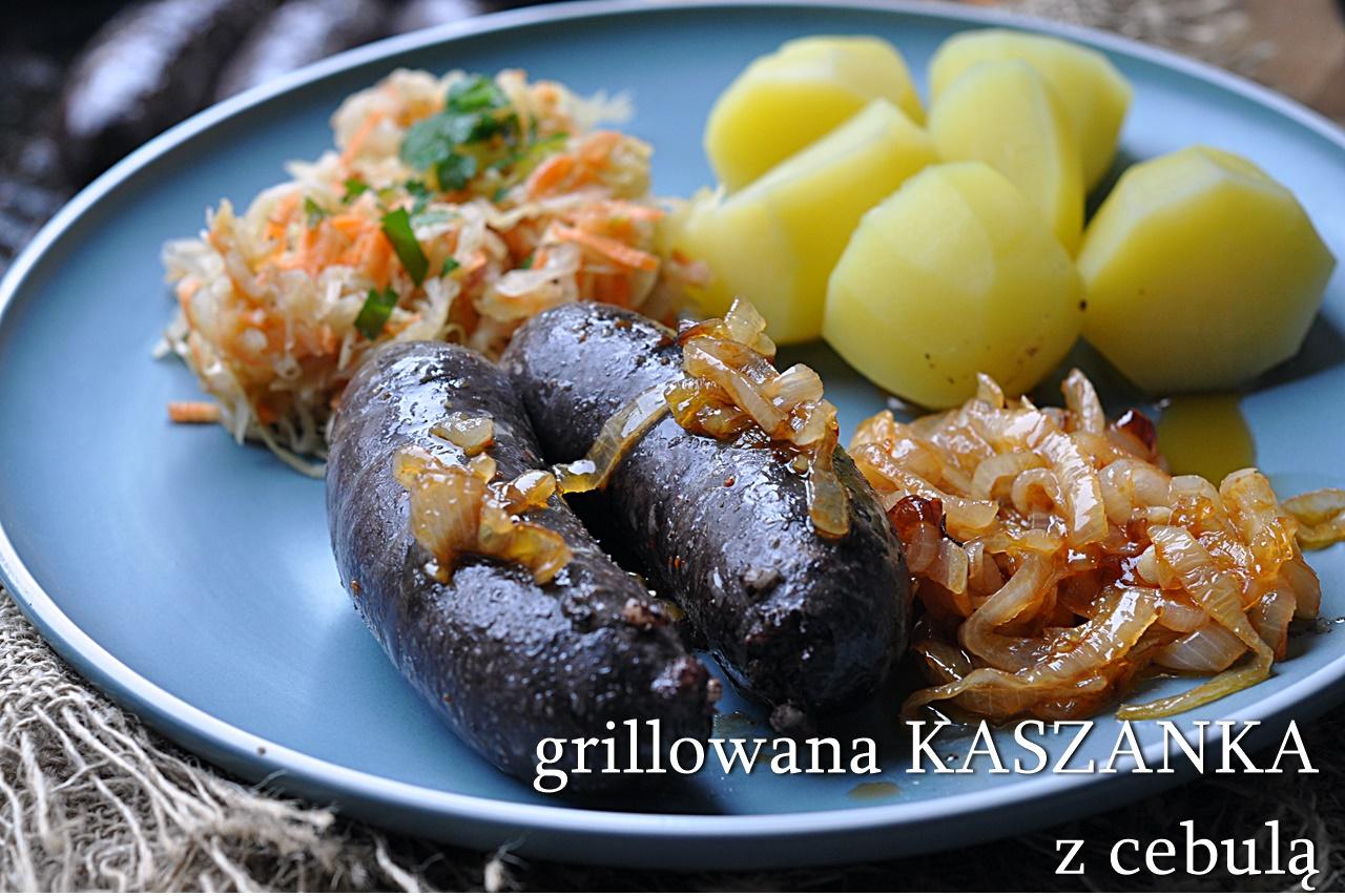 grillowana kaszanka