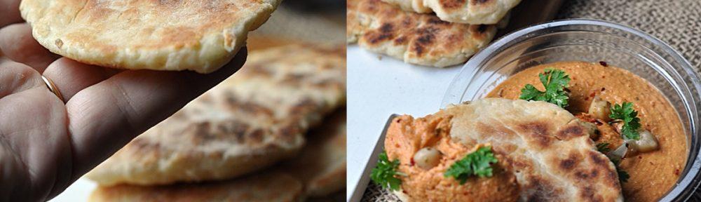 Jak zrobić chlebek naan bez drożdży