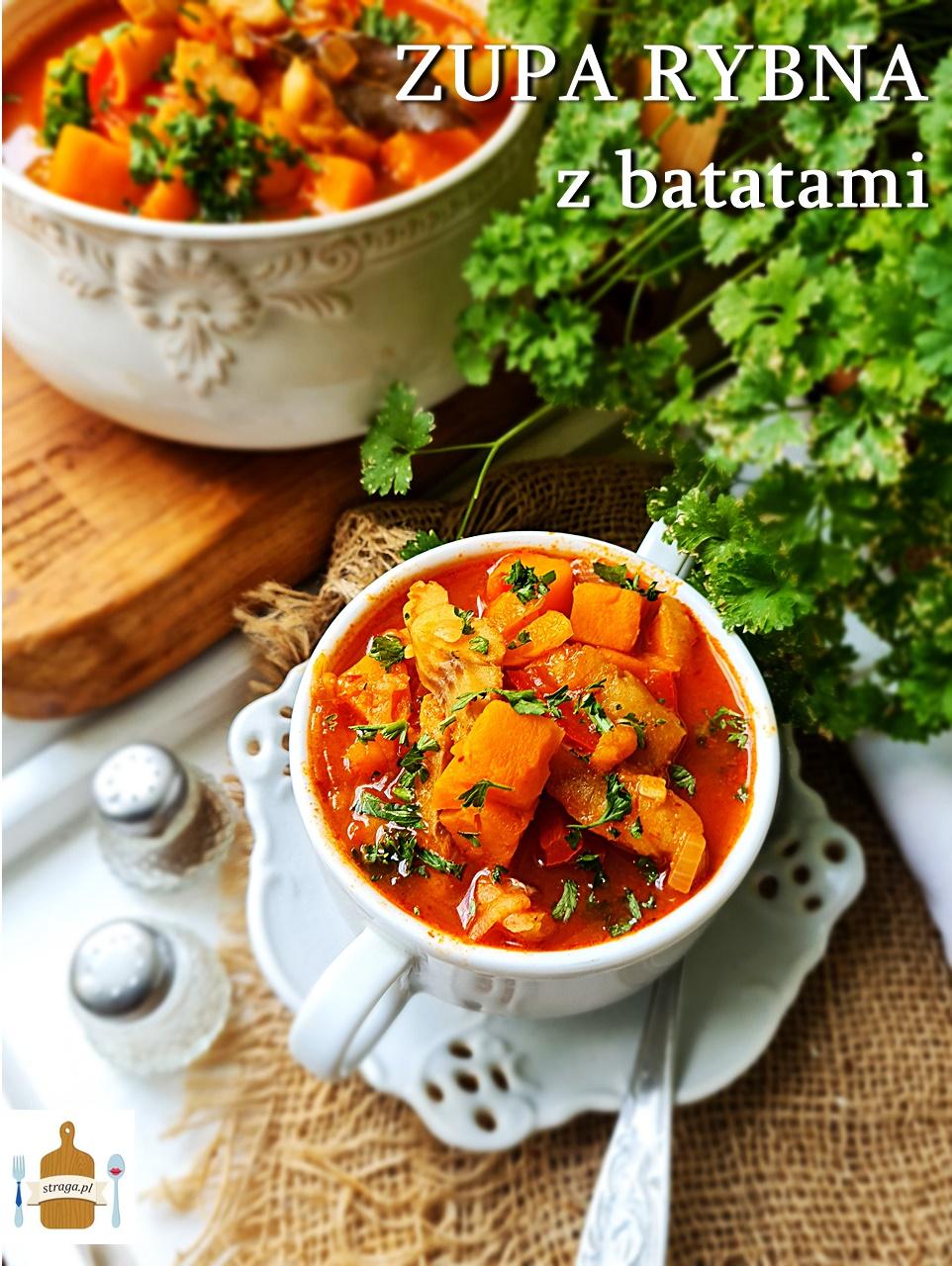 Najlepsza zupa z dorsza z batatami