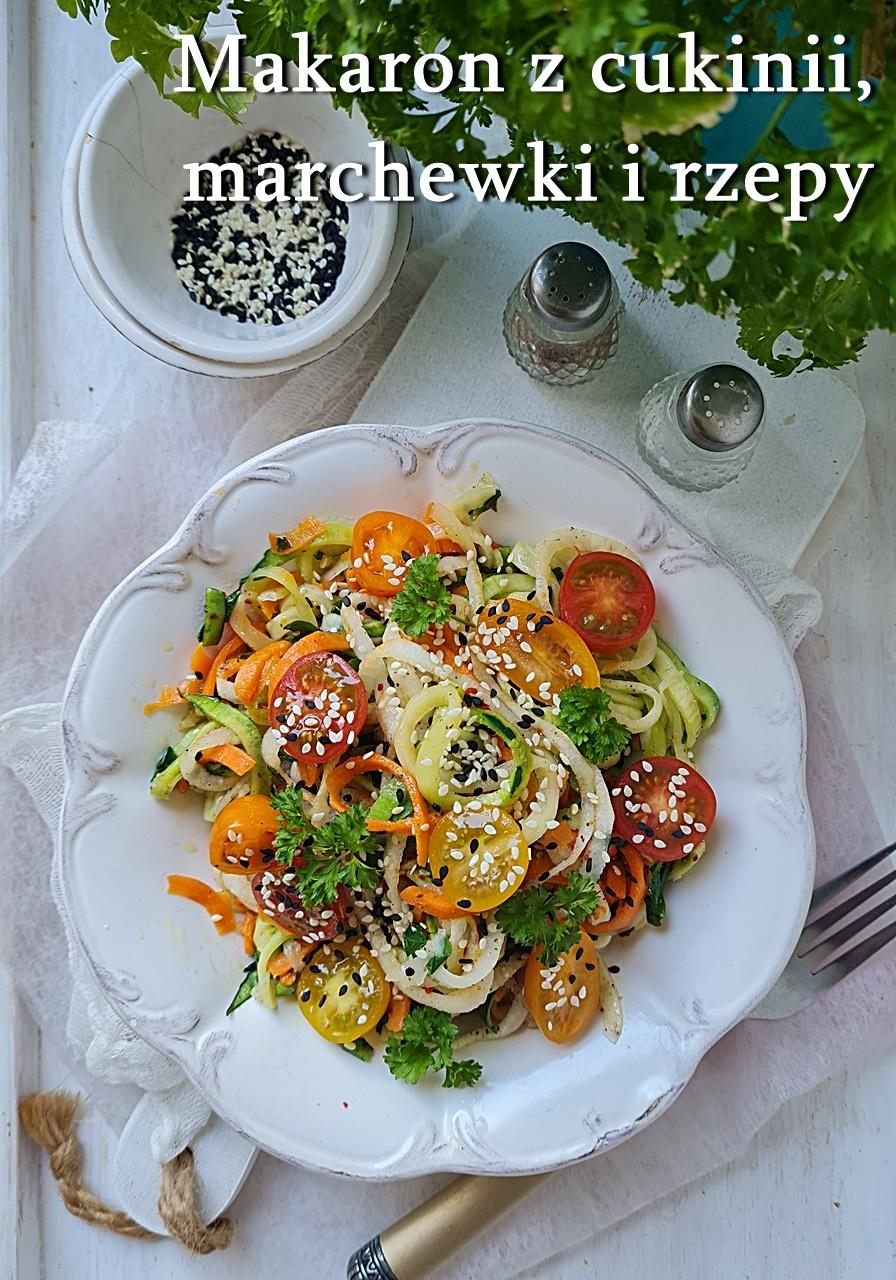 makaron warzywny